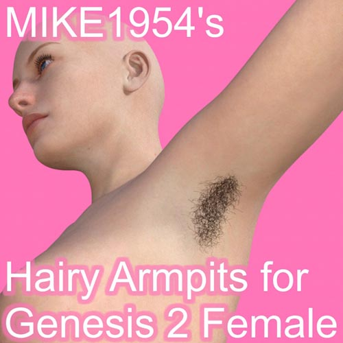 Hairy Armpits For Genesis 2 Female