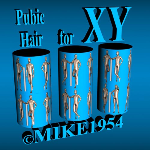 Pubic Hair For XY (G8M)
