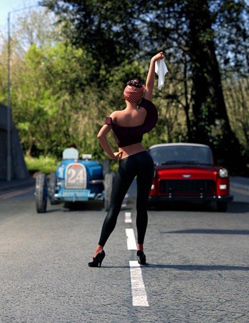 IGD 50s Allure Poses for Genesis 8 Female