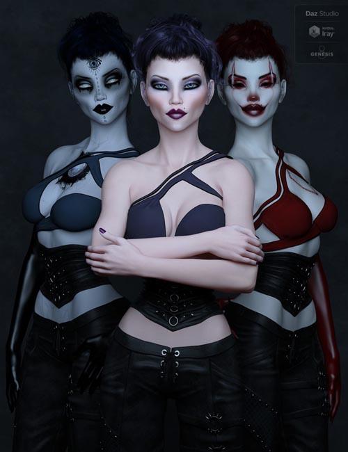 LIL-Kazandra for Genesis 8 Female