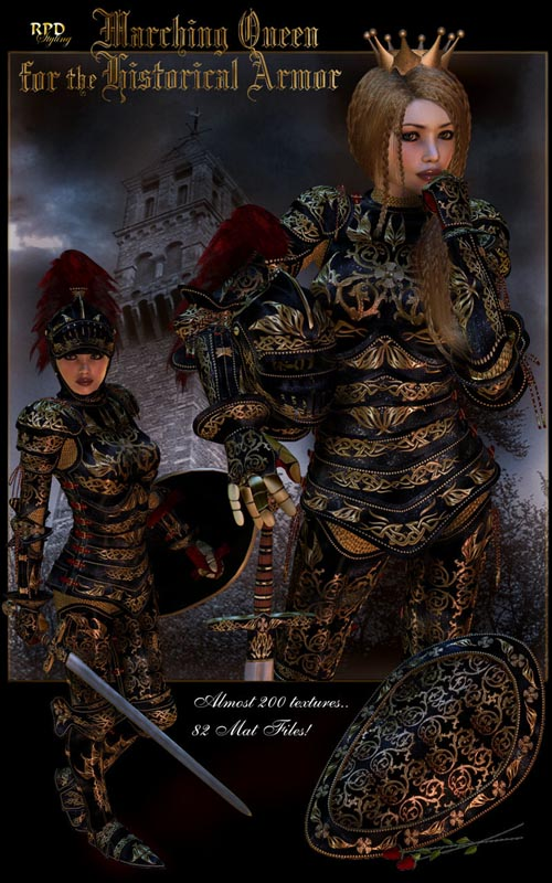 Marching Queen - Historical Armor
