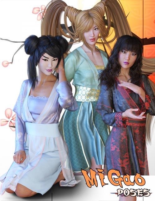 MiGao Poses for Genesis 8 Female(s)