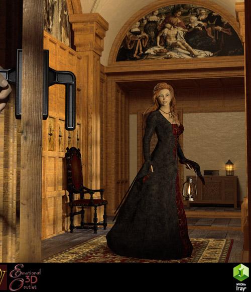 MS17 Tudor Room for DAZ