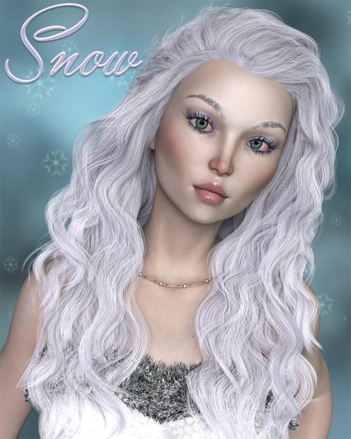 Snow for Genesis 8 Female