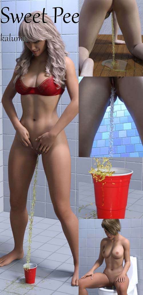 Sweet Pee For Genesis 8 Female - IRAY