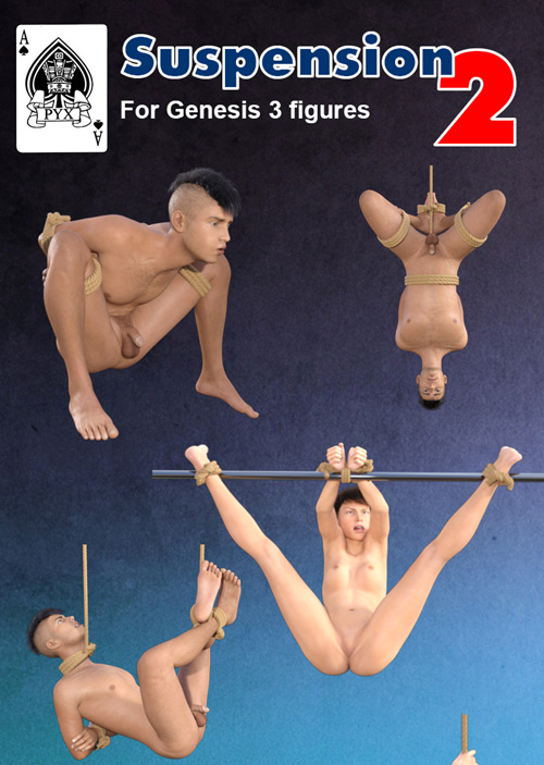 Suspension 2 For Genesis 3 Figures