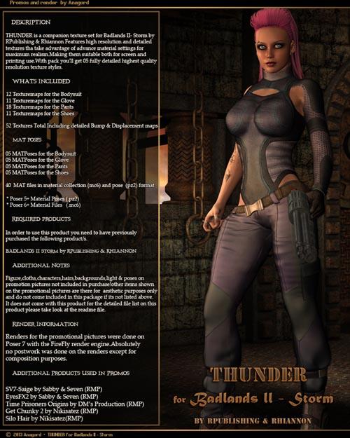 THUNDER for Badlands II - Storm