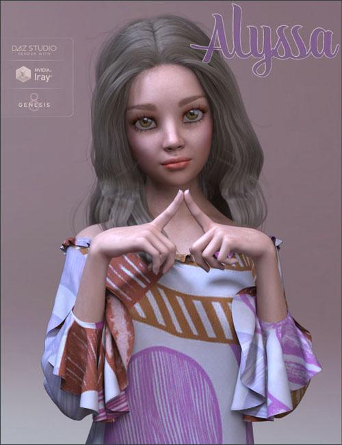 TDT-Alyssa for Genesis 8 Female