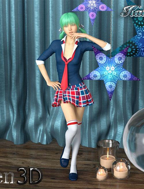 Katie For Genesis 8 Female