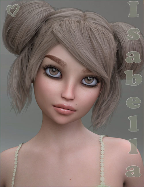 TDT-Isabella for Genesis 8 Female