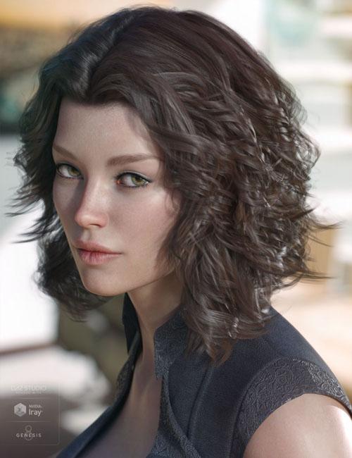 Caleela Hair for Genesis 3 & 8 Female(s)