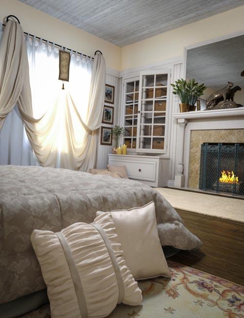 Woodman House: The Bedroom