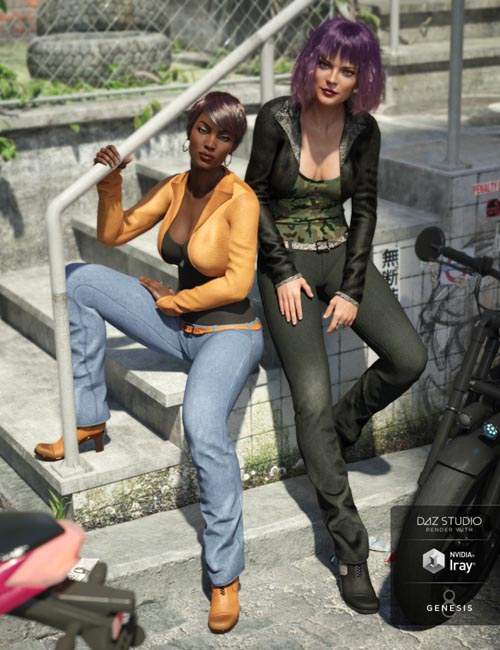Riviera Noon Outfit Textures
