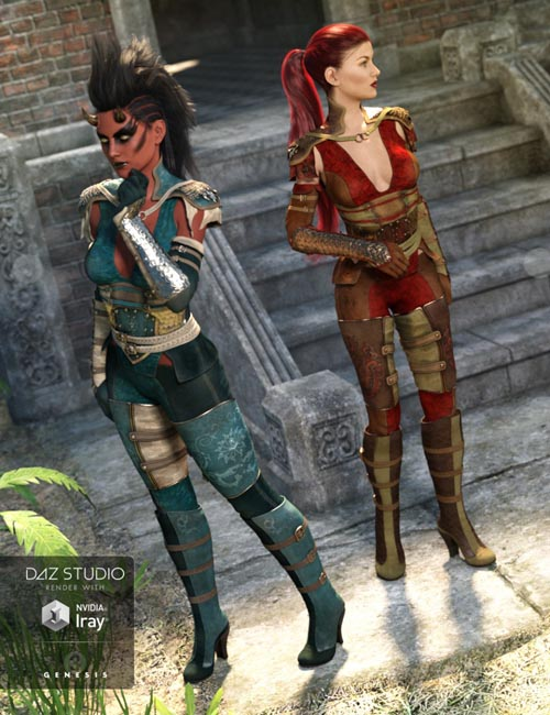 Dragon Rider Outfit Textures