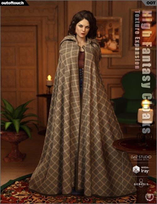 dForce High Fantasy Cloaks Texture Expansion