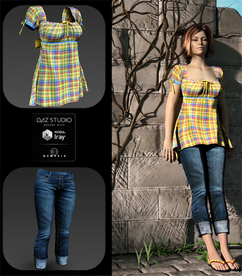 Pretty Plaid for Breezy Picnic Outfit