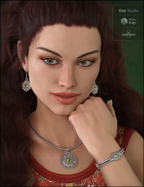 Bali Jewelry for Genesis 8 Female(s)