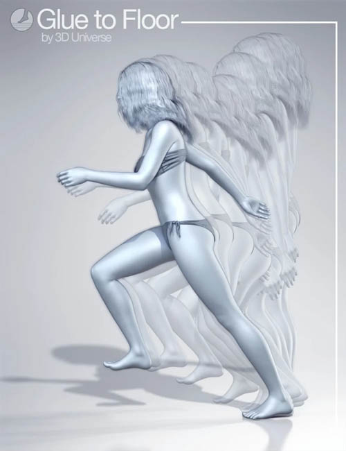 Glue To Floor Utility for Genesis 8 Female(s)