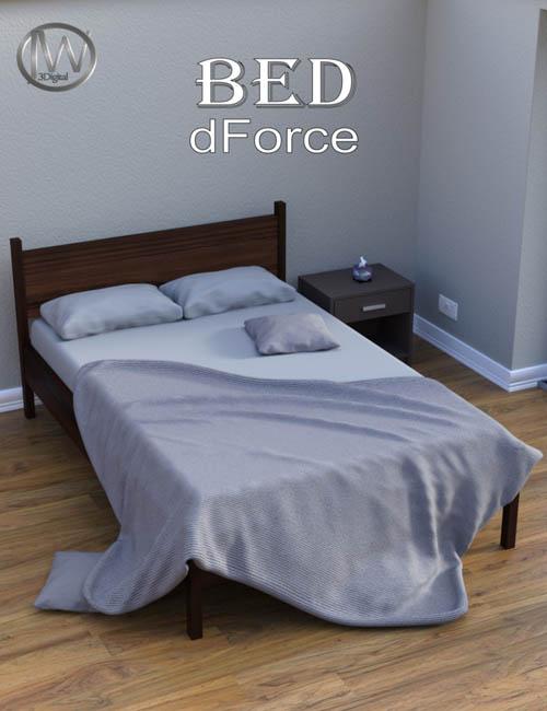 dForce JW Classic Bed