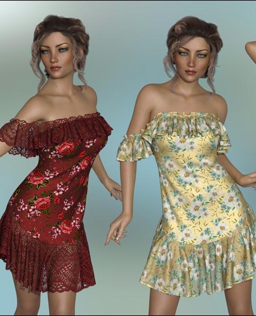 dForce - Octavia Dress for G8F