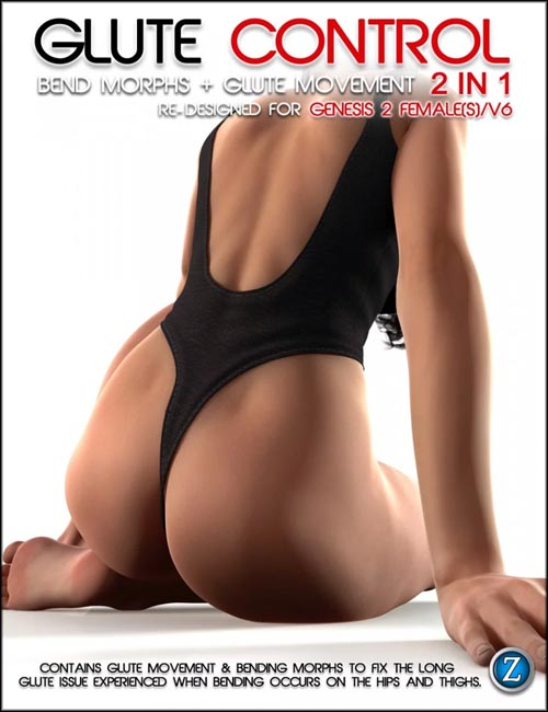 Glute Control for Genesis 2 Female(s) and V6