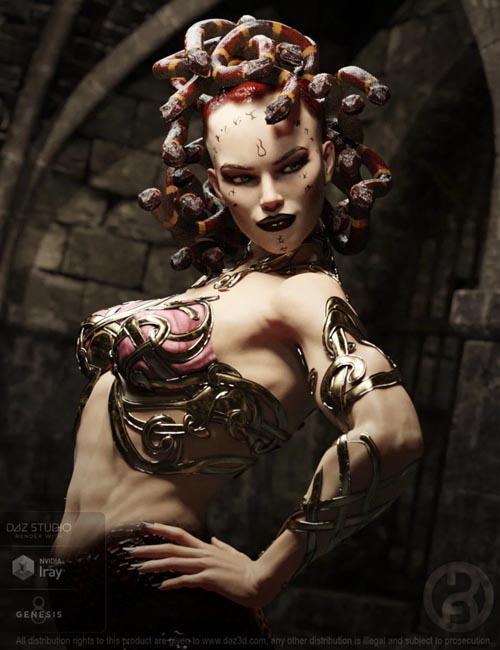 Medusa Maker for Genesis 8 Female