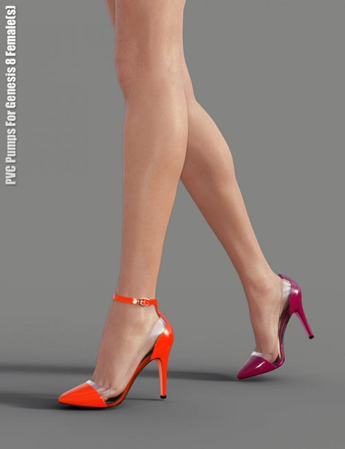 PVC Pumps for Genesis 8 Female(s)