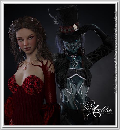 Maddie- G8F - Dark and Light