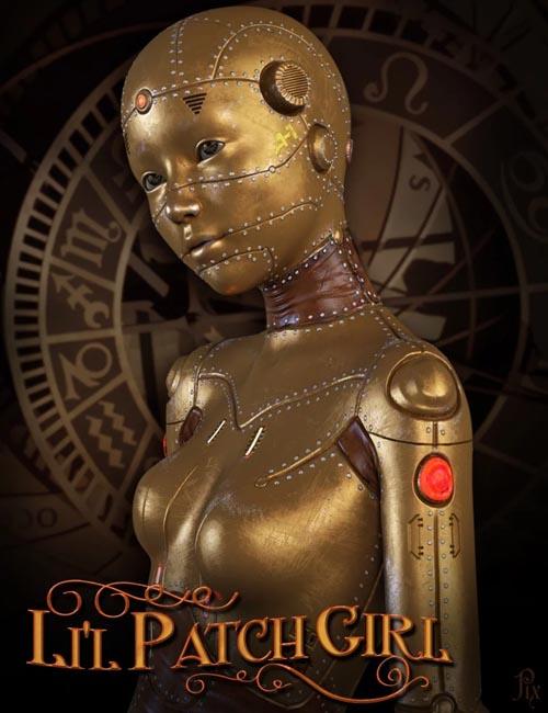 Li'l Patch Girl HD for Genesis 8 Female