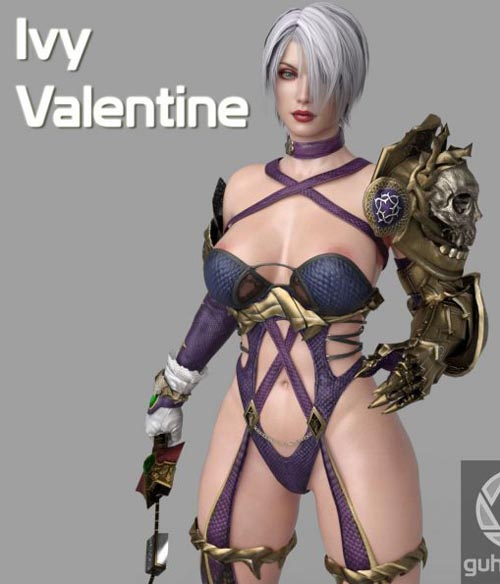 Ivy Valentine Suit for Genesis 3 Female