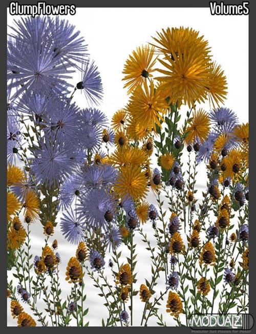 Modualz Clump Flowers Vol 5