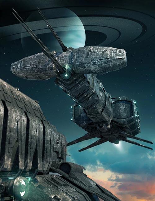 Scifi Ship Building Blocks