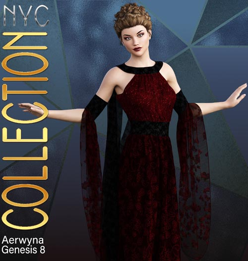 NYC Collection: dForce|Aerwyna Gown G8F