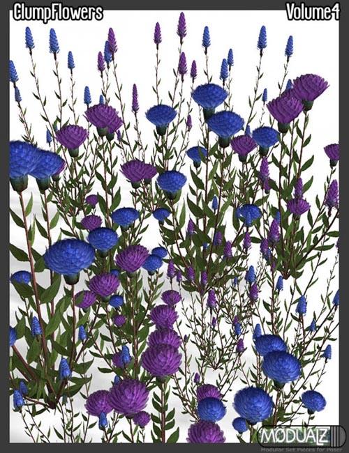 Modualz Clump Flowers Vol 4
