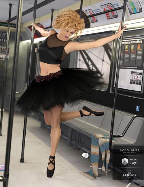 dForce Urban Ballerina for Genesis Female(s)