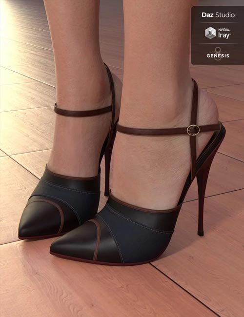 Stylett High Heels for Genesis 3 and 8 Female(s)