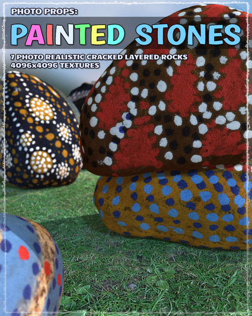 Photo Props: Painted Stones