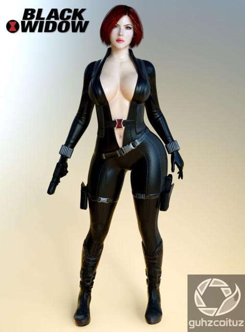 Black Widow WS For Genesis 3 Female