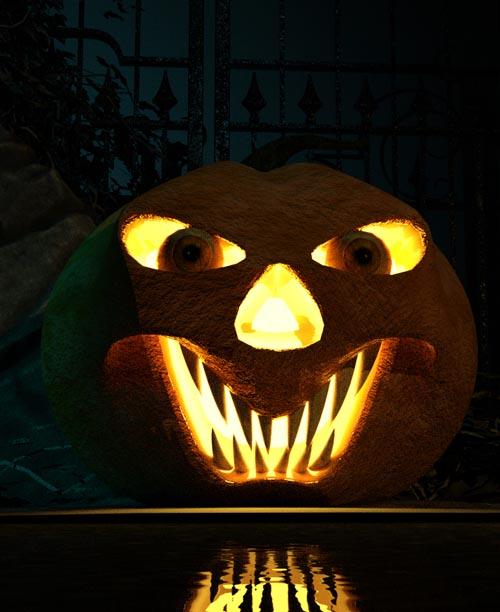 Morphable Halloween Pumpkin