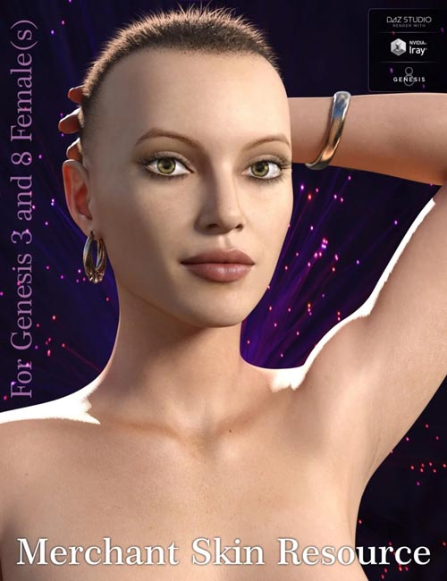 Genesis 3 and 8 Female(s) Texture Merchant Resource