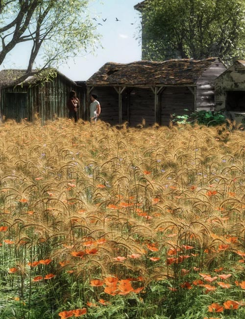 Wild Flower Plants vol 4 - Wheatfields
