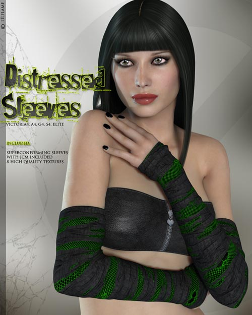 Distressed Sleeves