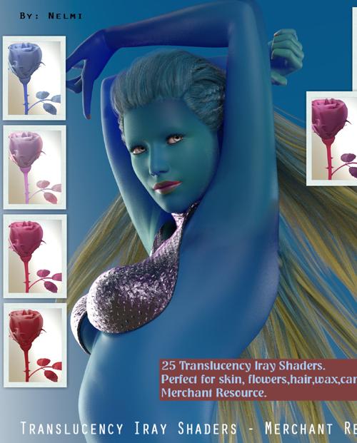 Translucency Iray Shaders - MR
