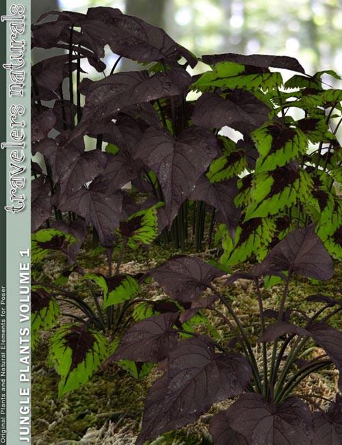 Traveler's Naturals - Jungle Plants Vol 1