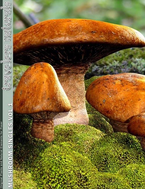 Traveler's Naturals - Mushroom Singles Vol 1
