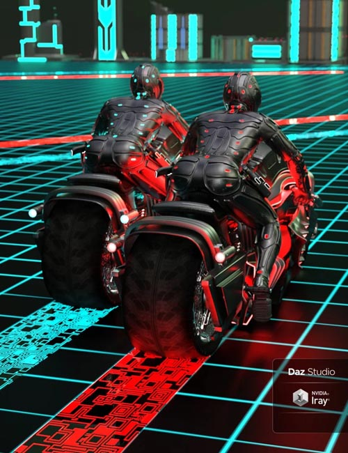Cybernetics Iray Shaders