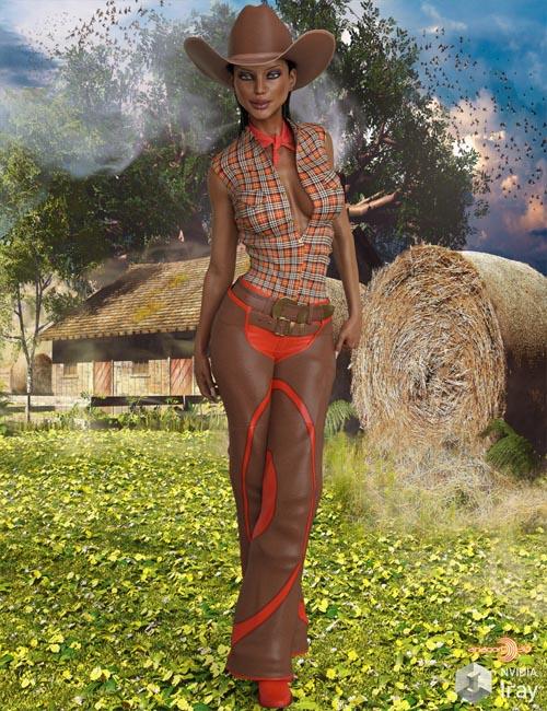 VERSUS - Cowboy for Genesis 3 Female(s)