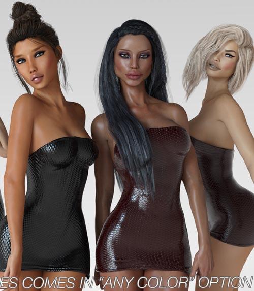 VERSUS - i13 TUBE DRESS for the Genesis 3 Female(s)