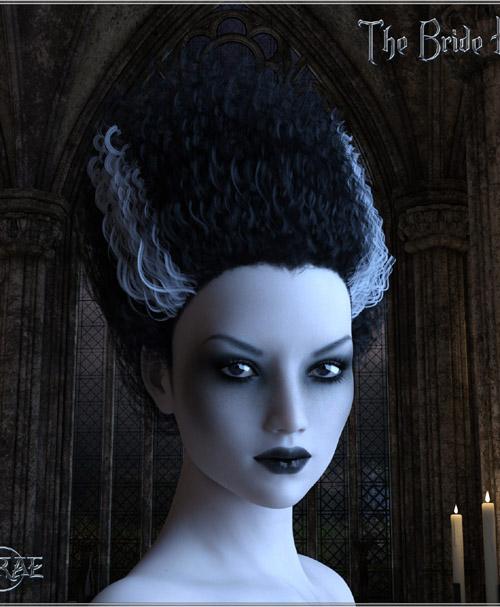 Prae-The Bride Hair G3/G8 Daz