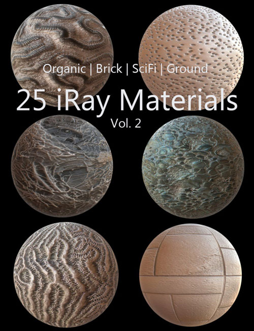 Iray Materials Collection Vol 2